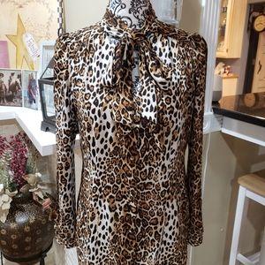 Gorgeous Cheetah Blouse